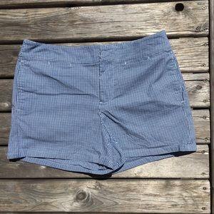 Ralph Lauren Checkered High Rise Shorts